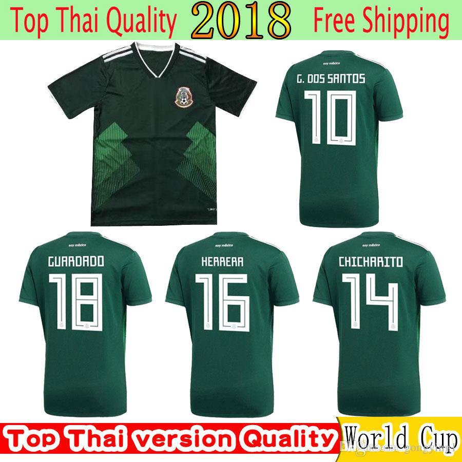 97b32362d Mexico Soccer Jersey World Cup 2018 - Joe Maloy