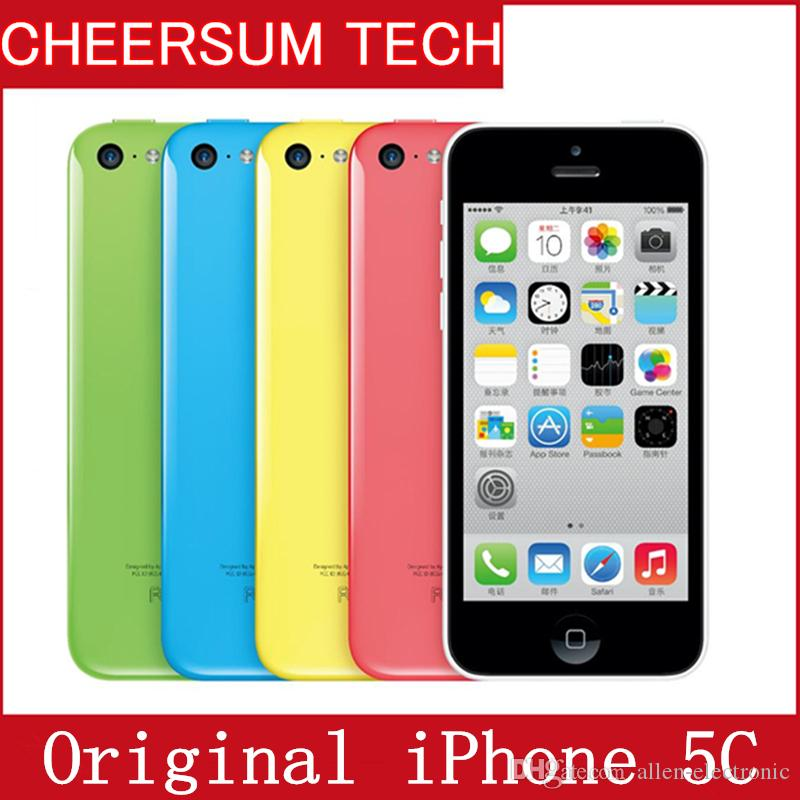"100% Factory Original Unlocked Apple Iphone 5c Smartphone 4.0"" Dual Core WCDMA IOS Multi-Language16GB/32GB optional Dual Core"