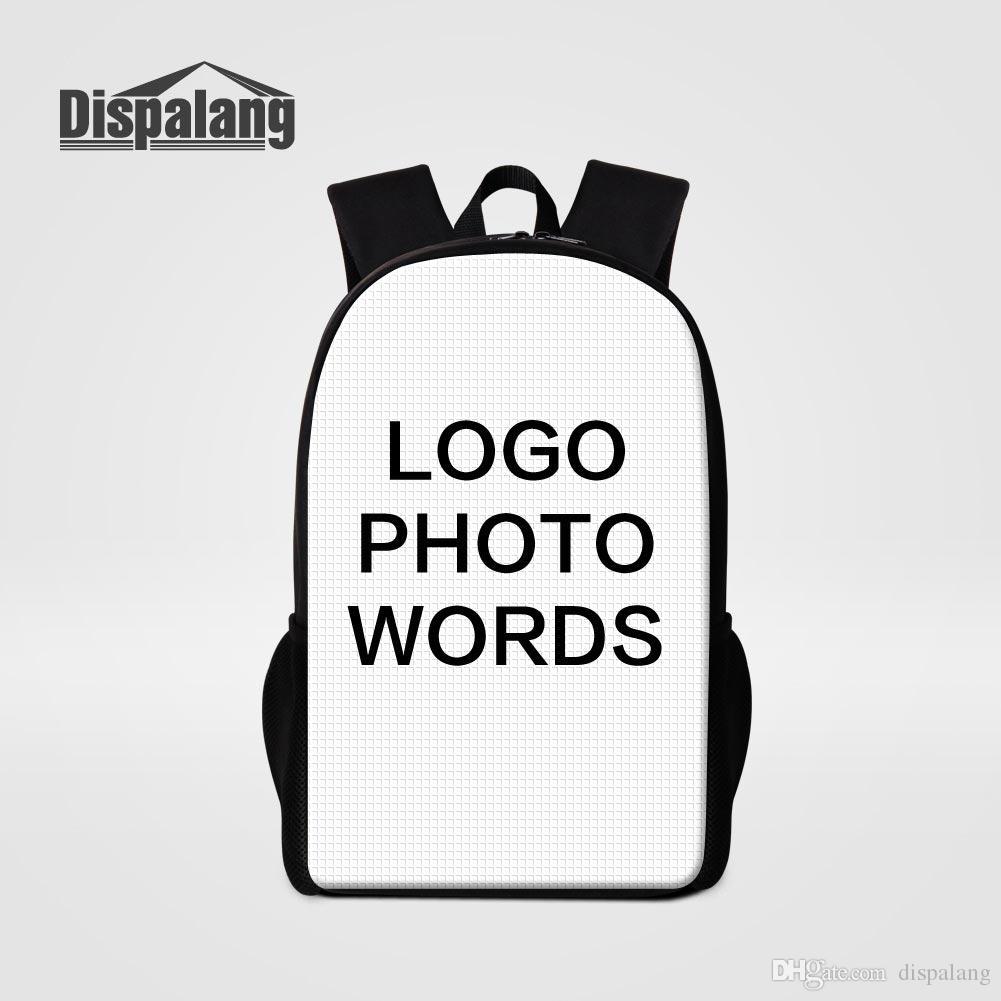 Personalized Customized Bags 3D Printing Laptop Backpacks Women Men Travel  Bagpacks School Bags Mochilas Bookbags Rucksack Bolsas Sac A Dos Hype  Backpacks ... 3683d66141b30