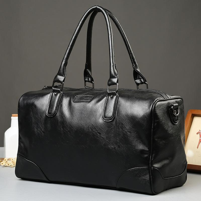 2508955948 2017 Men S Travel Bags Brand Luggage Waterproof Suitcase Duffel Bag Large  Capacity Casual Leather Handbag Duffle Fashion Solid Sports Bags Weekend  Bags From ...