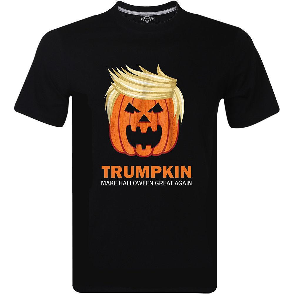 646534274a6 Halloween Trumpkin Funny T Shirt Make Halloween Great Again Costume M 234XL  F288 Awesome T Shirt Clever T Shirts From Robotrave21