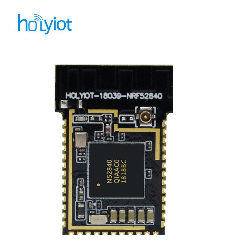Nordic nRF52840 module Bluetooth low energy long range 500 meters bluetooth  5 0, PCB & IPX Antenna