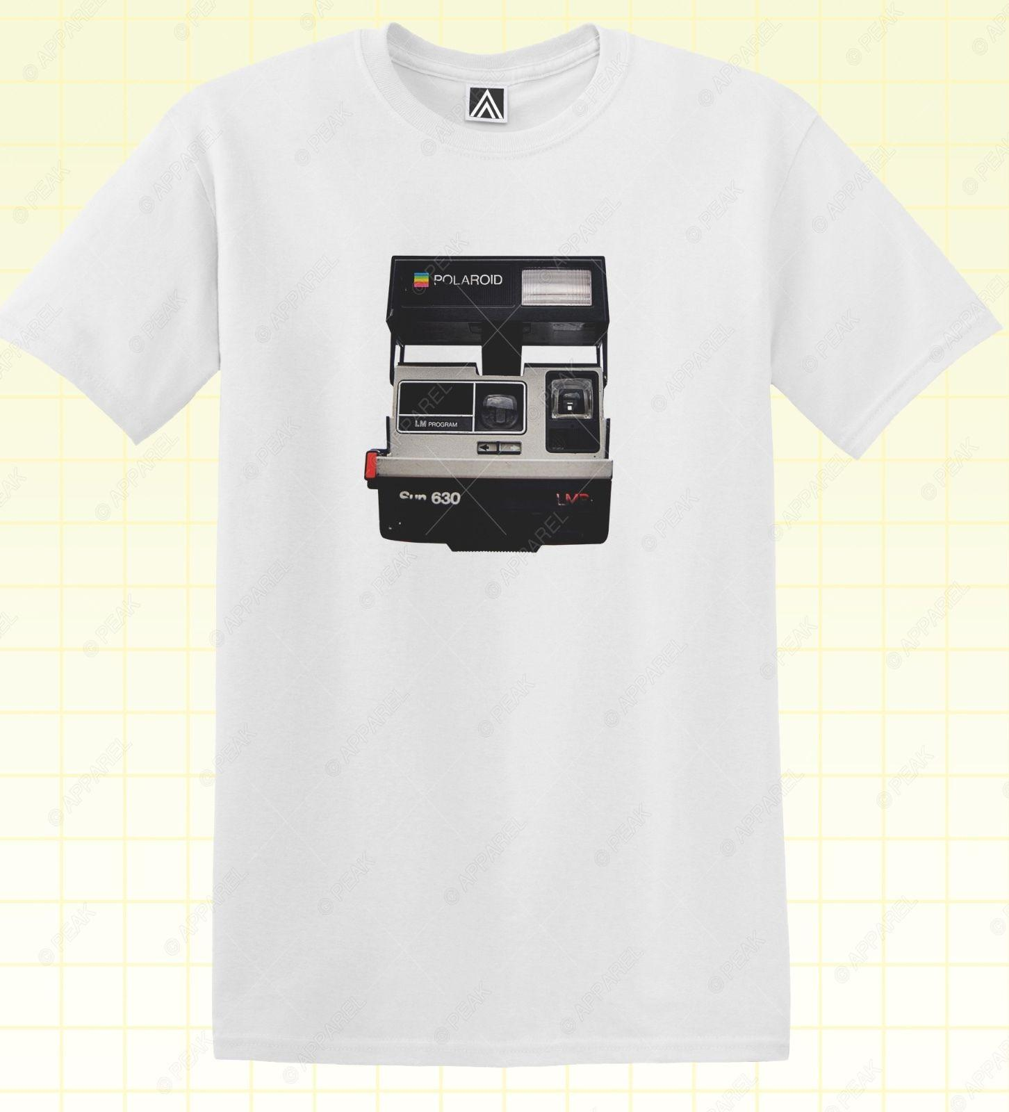 Vintage Camera T Shirt Instant Picture Hipster Retro Photo Tee Insta Blog  Topdenim Clothes Camiseta T Shirt Tee Shirt For Sale Worlds Funniest T  Shirts From ... 34b395c05b72f
