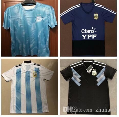 36b0e7a7ddc 2019 2018 World Cup Argentina Soccer Jersey 2018 Argentina Home ...