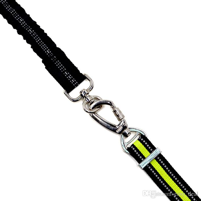 Dog leash Buffer elasticity Short traction rope Reflective pet pull Telescopic stretch dog lead For pet Dogs F20173217