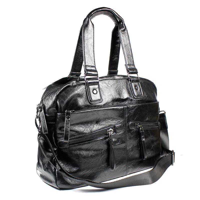 5ba470b232 Fashion Men S Travel Bags Brand Luggage Waterproof Suitcase Duffel Bag  Large Capacity Bags Casual High Capacity Leather Handbag Spotty Suitcase  Kids ...