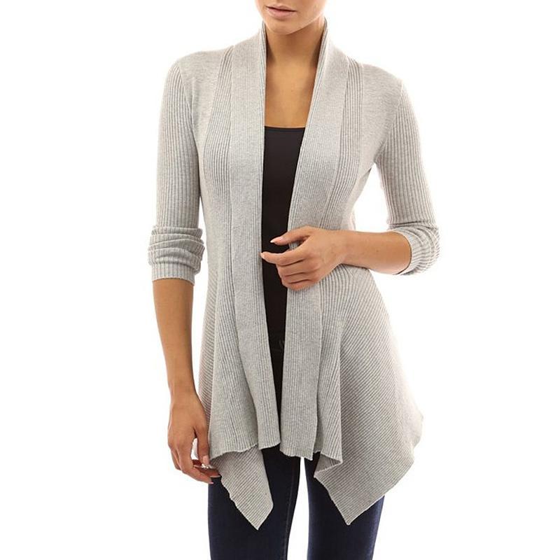 2019 SMDPPWDBB Autumn Winter Maternity Women Long Sleeve Loose Knitting  Cardigan Sweater Womens Knitted Female Cardigan Pull Femme From Jasmineer 75b59180a