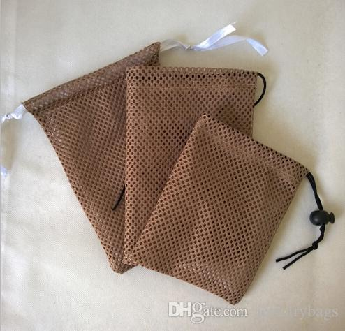 CBRL small mesh jewelry bag 8*10cm mesh gift bag mesh drawstring bag pouch for accessories jewelry custom&wholesale