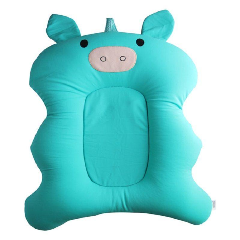 Baby Bath Pad Newborn Baby Foldable Bath Tub Pad & Chair & Shelf ...
