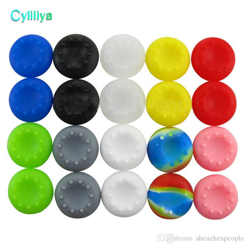 For 2X PS4 PS3 XBOX ONE XBOX 360 Controller Rubber Thumbstick Grips Thumb Stick Grip