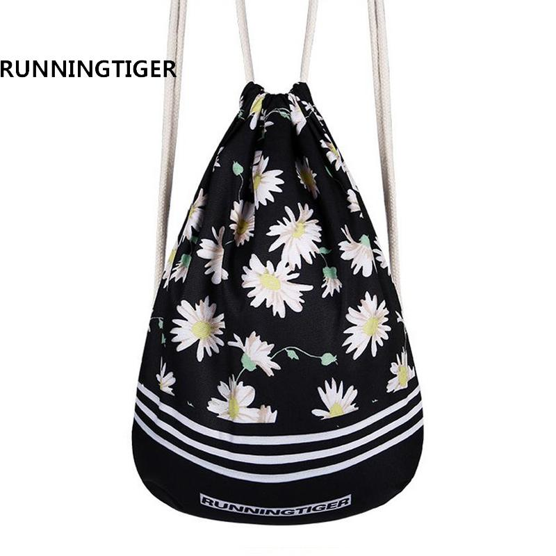 2019 New School Cute 3D Printing Drawstring Bag Strap Women Men Shoulder Bag  Designed Straps For Backpack Harajuku Travel Beach From Shuiyong 22c6e780a