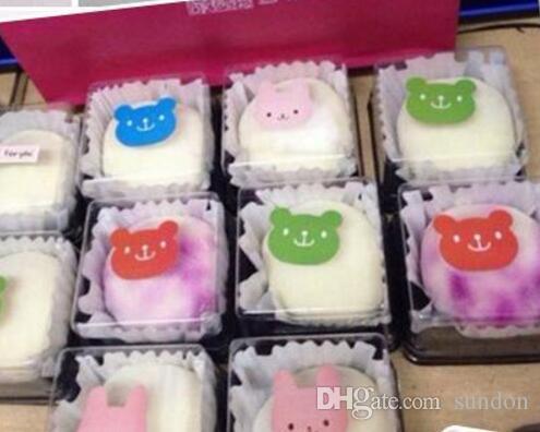 / серия, Пластичная коробка торта одиночные индивидуальные коробки торта золотистые или коробки PVC Mooncake blackBottom пластичные упаковывать подарка еды, 6.8*6.8*4.2