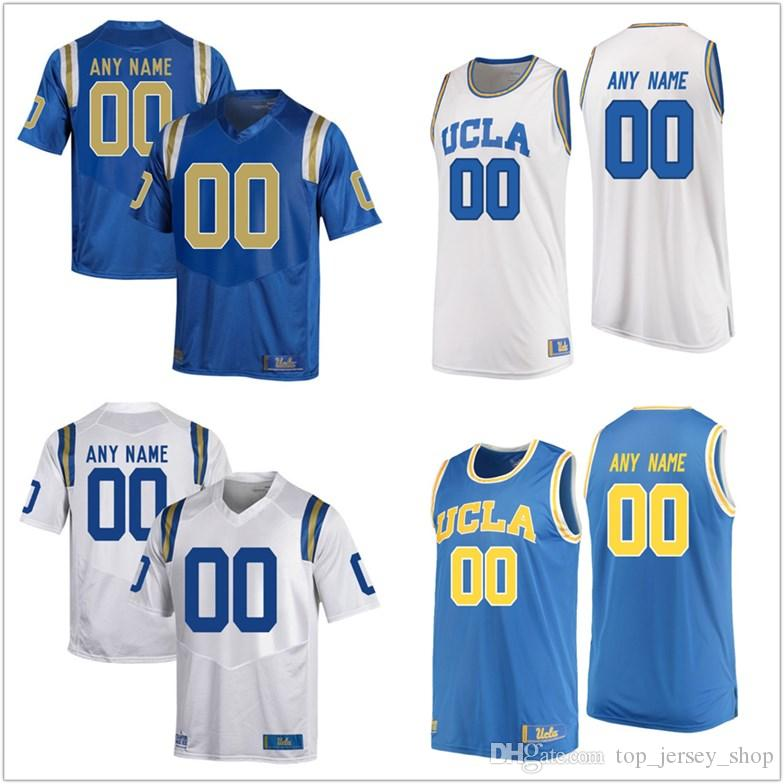 6a0ebd1d16db 2019 NEW 2018 NCAA Men Custom Made UCLA Bruins College Football Jerseys  Customized Josh Rosen Blue White Stitched Basketball Jerseys Cheap From ...