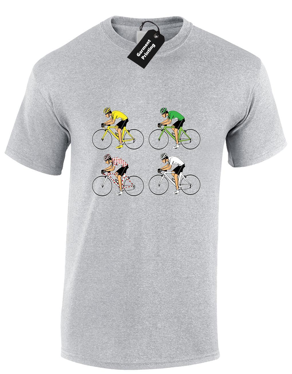 TOUR DE FRANCE JERSEYS MENS T-SHIRT FUNNY CYCLING CYCLIST BIKE GIFT IDEA (COL)
