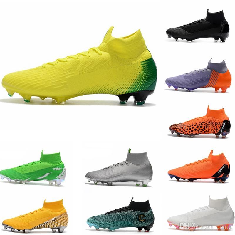 A Calcio Chaussures Mercurial Calcio Superfly Fg Mens Da Da Ronaldo 2018 Indoor Scarpe Scarpe De Outdoor Da Cr Acquista Elite 360 Tacchetti Futebol Calcio qgaxnP