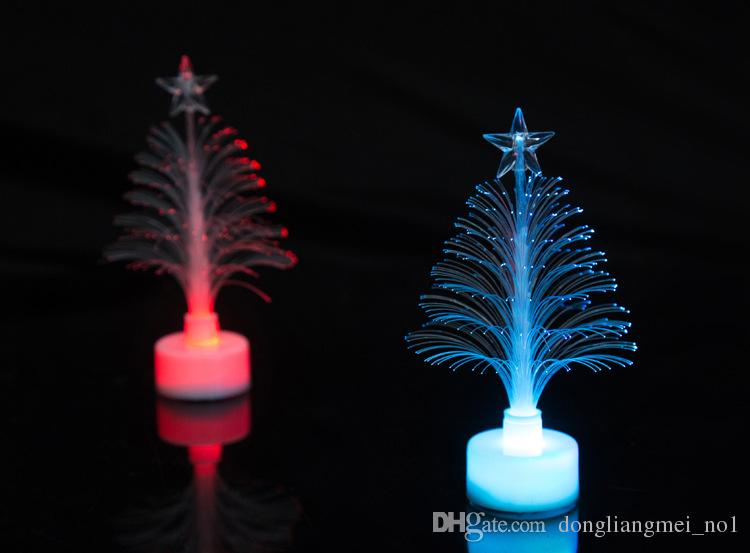 Hot sale The Christmas light tree Christmas gift fiber optic light Christmas hat activity 65OC