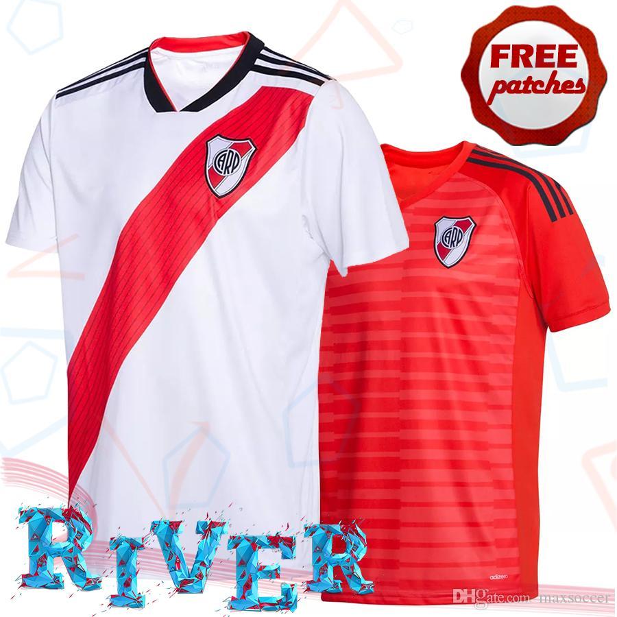 Superior Thai Quality Club Atlético River Plate 2018 2019 Local Goalkeeper  Soccer Jersey G.MARTINE MAIDANA PRATTO PONZIO Camisetas De Fútbol 2XL Por  ... 54a35847f83df
