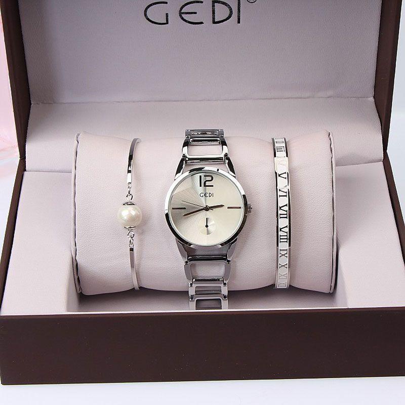 8223225011e Set GEDI Brand Women Watches Fashion Party Ladies Watch Creative Design  Bracelet Watch Luxury Relojes Mujer 2018 Relogios Y18110310 Online Watch  Sales Buy ...