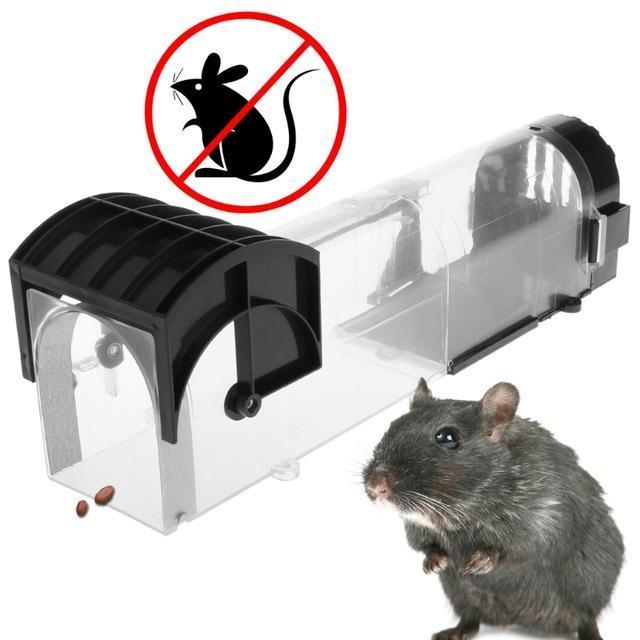 f8872eacf1927 Compre Ratoeira Reutilizável Não Veneno Ratos Ratos Rato Ratoeira  Rastejador Isca Catcher Gaiola De Segurança Com Efeito De Estufa Para Uso  Doméstico Do ...