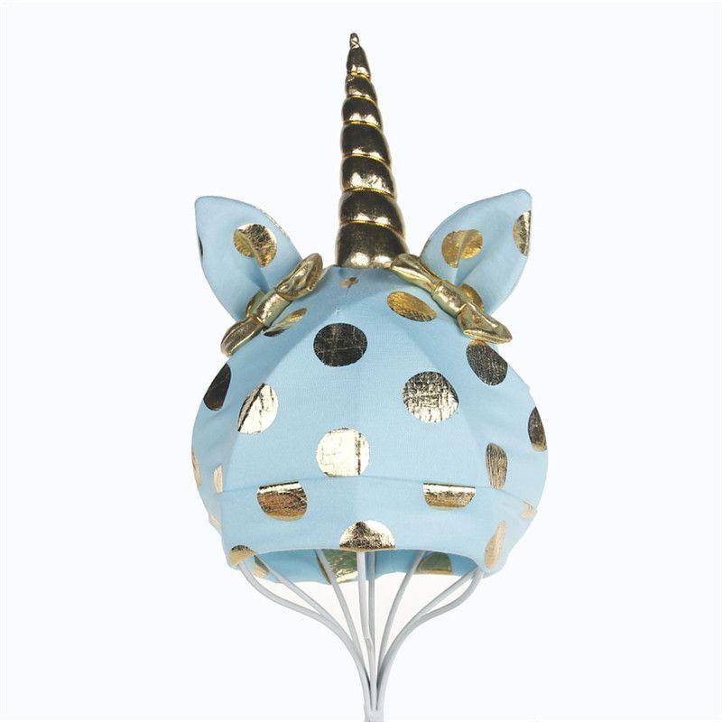 INS Baby Bowknot Unicorn Hat Kids Boys Girls Winter Warm Dot Bunny Ears Knitted Caps Infant Cartoon Bow Beanies