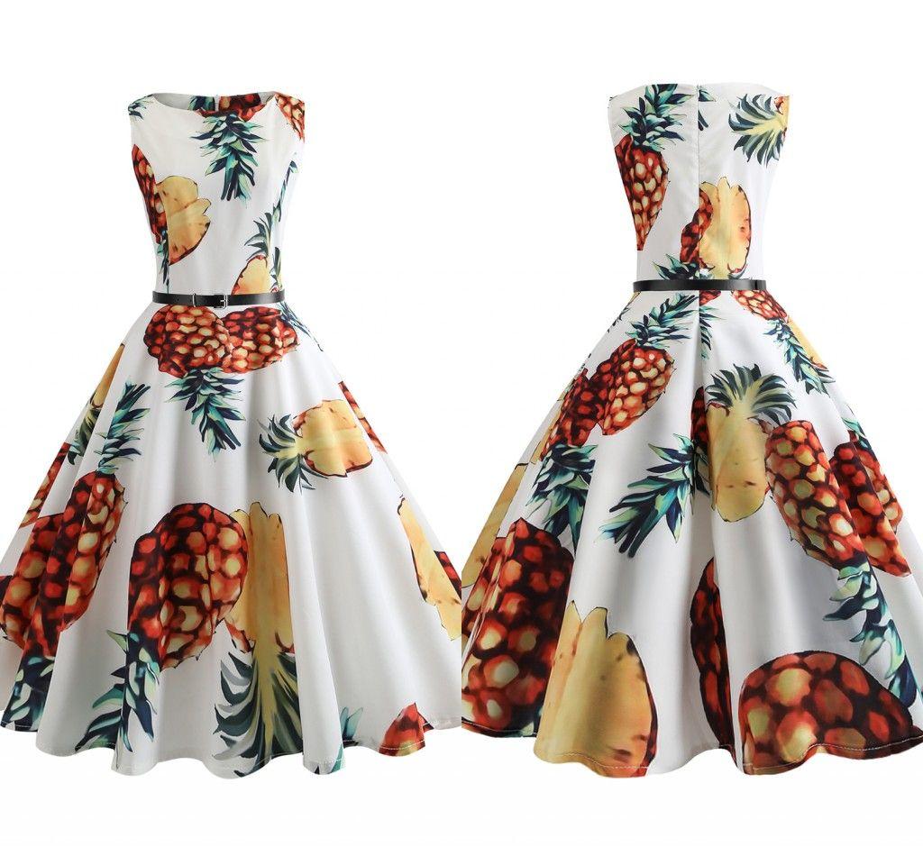 Grosshandel Audrey Hepburn Kleid Plus Grosse 2018 Mode Retro Vintage