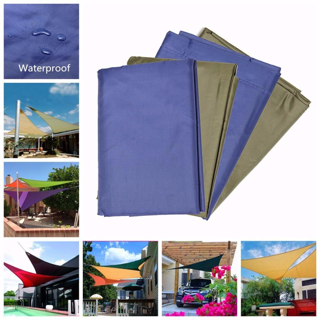 20df90584ba2 Waterproof Sun Shade Sail Patio Outdoor Canopy UV Block Top Cover Triangle  Garden Awning Shelter Sun Shelter 2 Man Tents 4 Man Tents From Mssweet, ...
