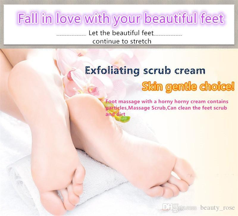BIOAQUA 24K GOLD Shea Buttermassage Cream Peeling Renewal Mask Baby Foot Skin Smooth Care Cream Exfoliating Foot Mask in stock DHL Free