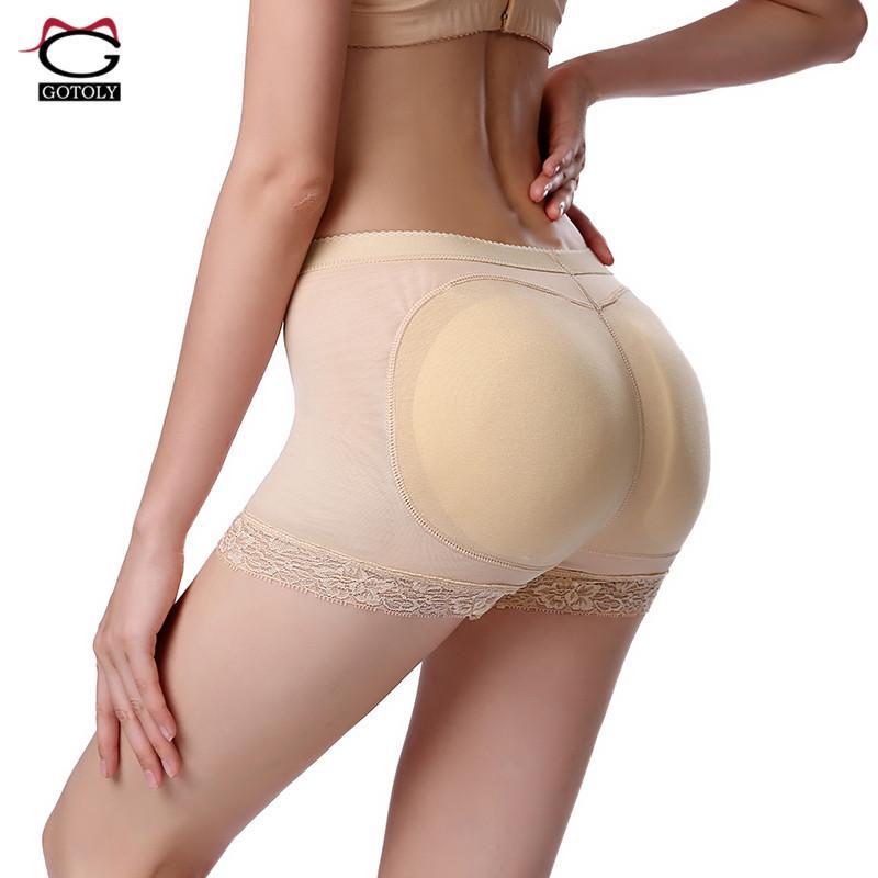 3b146a3fa62f7 2019 Women Buttocks Padded Butt Lifter Control Panties Bum Lift Enhancer  Briefs Shaperwear Booty Panties Shaper Sexy Lace Underwear From Dalivid