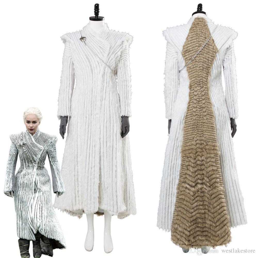 Costume Acquista Season Of Thrones Cosplay Daenerys Targaryen Game PZTqwP6