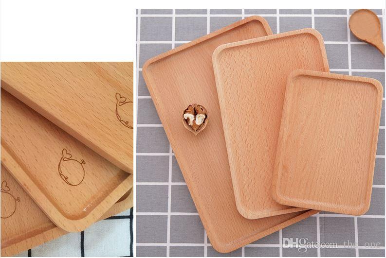 Vassoi In Legno Fai Da Te : Acquista new giapponese in legno fai da te artigianale colazione