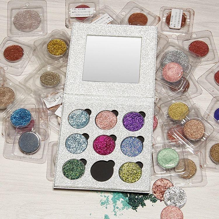 2018 Makeup Magnetic eyeshadow Palette Refill Eyeshadow Blush DIY Beauty Pigment Make up Cosmetic Eye shadow Glitter eyeshadow palette