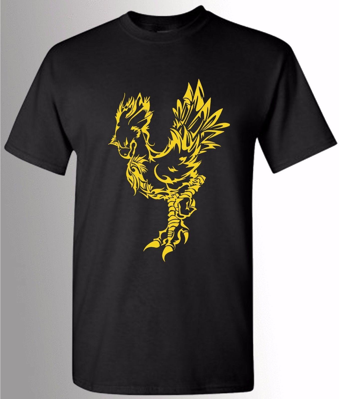 Final Fantasy, Chocobo T-Shirt, FF7 FF8 FF9 FF10 FF15, PS4 Gamers tee,  Unisex