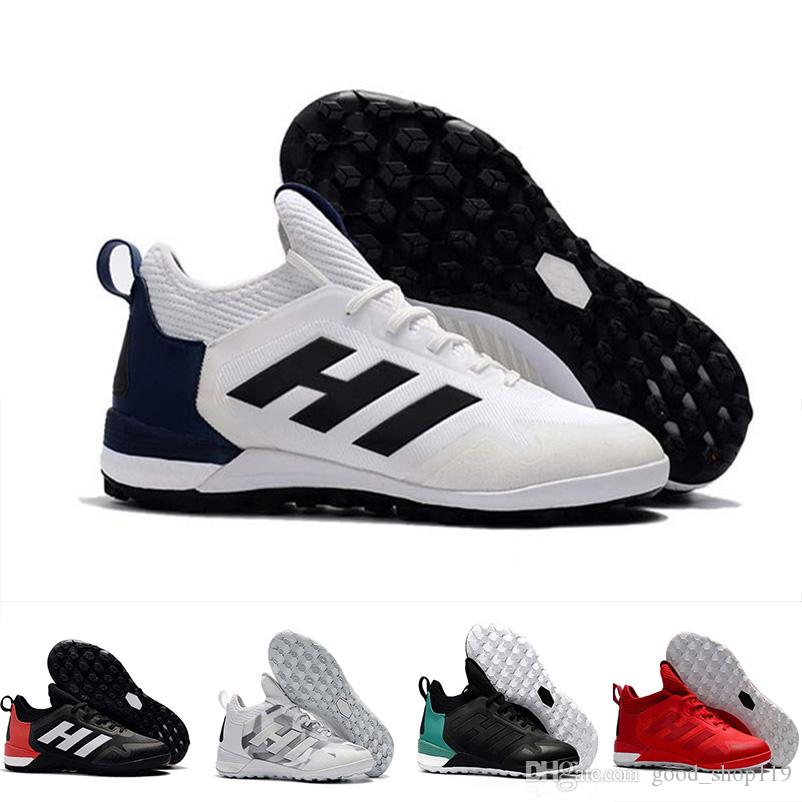 Newest ACE 17 Purecontrol FG ACE 17.1 Crampons De Football Boots Mens High  Top Ankle Soccer Cleats Dragon Outdoor Lawn Soccer Shoes ACE 17 Football  Shoes ... 600a806ab73b0