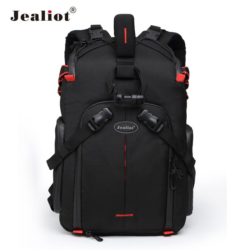 Jealiot Professional slr Backpack for Camera Bag laptop Video Photo lens digital camera bag photography waterproof for  50d