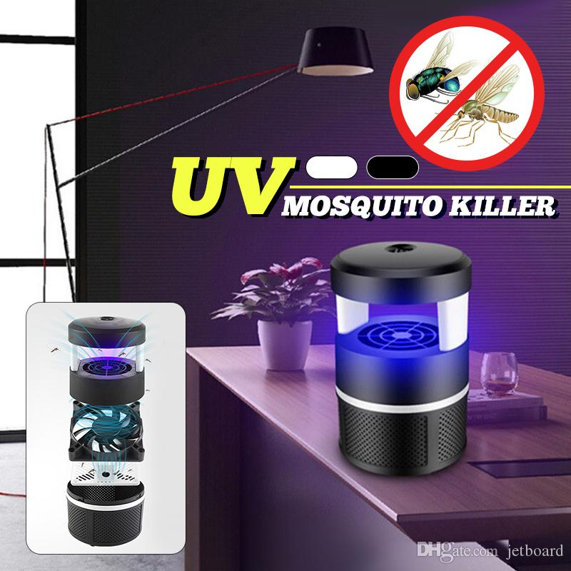Indoor 5W LED Fly Mosquito Repellent Bug Zapper Lamp, Electric Insect Mosquito Killer Lamp UV Light