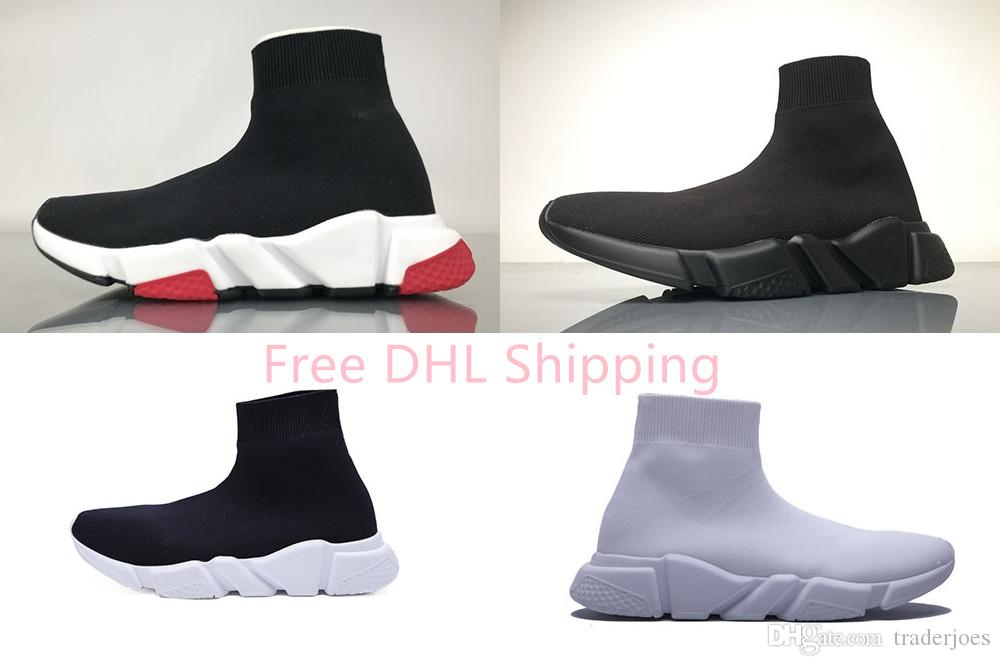 6890d9e07fbe DHL Shipping With Box Mens And Womens Casual Shoes Zoom Slip On Speed  Trainer Low Mercurial XI Black High Fashion Help Socks Shoes Sneakers  Loafers Mens ...