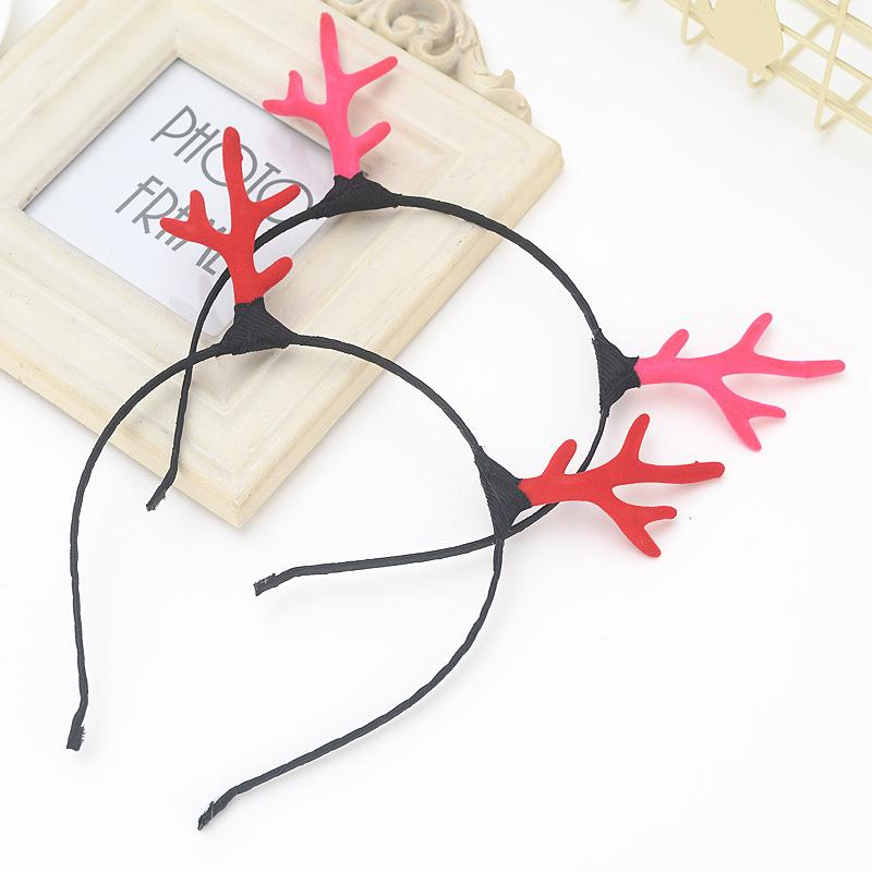 Headband Girls Women Female Cute Deer Horn Hairbands Mori Girls Style Hair Accessories Hair Clips Hoop Children's Hair Tools