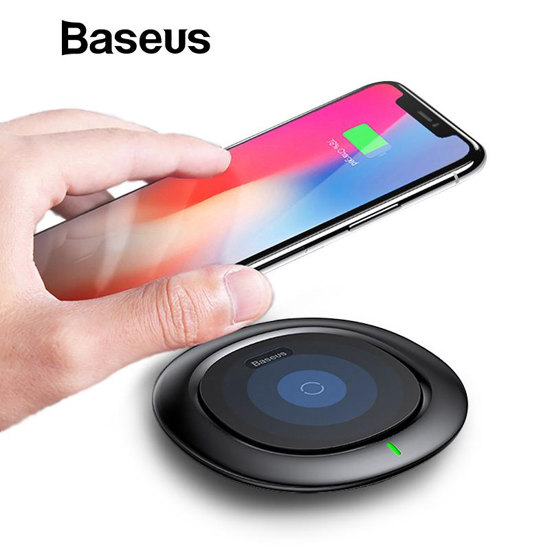 low priced 3288b 74912 UFO Wireless Charger For iPhone XR XS Max Samsung Note9 Mobile Phone 10W Qi  Wireless Charging Charger Fast Charging Pad