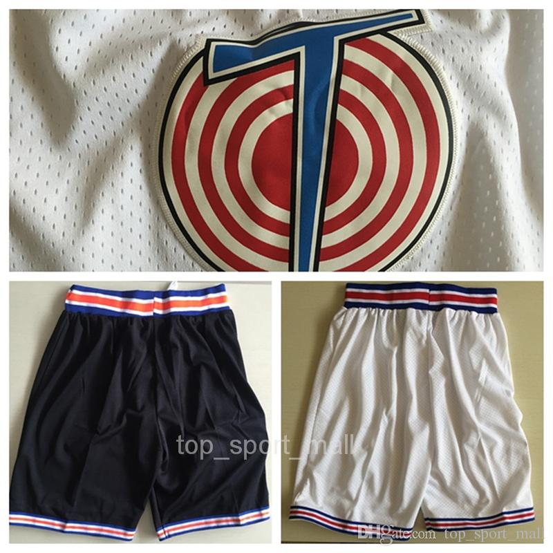 1f04f2b1a3afe0 2019 Space Jam Shorts Men White Basketball Looney Tunes Tune Squad Pant  Daffy Duck Bill Murray Bugs Bunny Trousers Lola Bunny Tweety TAZ From ...