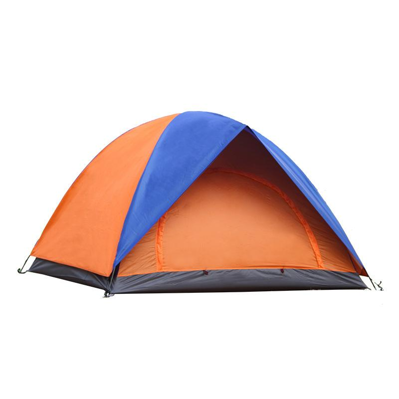 Lightweight Outdoor C&ing Tent 3 4 Persons Double Layer Sunscreen Waterproof Winter Professional Beach Tourist Tent CK110G Family Shelters Shelter Uk From ...  sc 1 st  DHgate & Lightweight Outdoor Camping Tent 3 4 Persons Double Layer Sunscreen ...