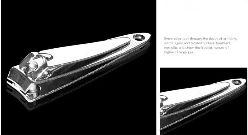 Portable Manucure Inoxydable Ensemble De Nail Art Kits Ongles Clipper Ciseaux Sourcil Clip Earwax Cuillère Pédicure Outil Avec Retail Pacakge