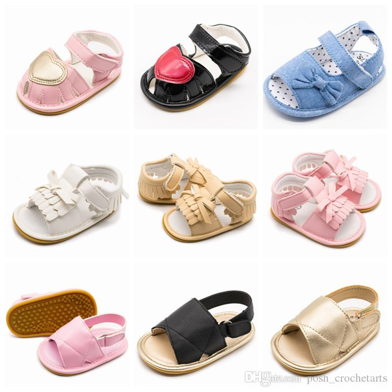 Summer Baby Shoes Handmade Boys Shoes Prewalkers For Baby Girls And Boys  Fashion Sandals For Babies From 0 12M Leather Sandals Baby Boy Sandles From  ... eee0c32de