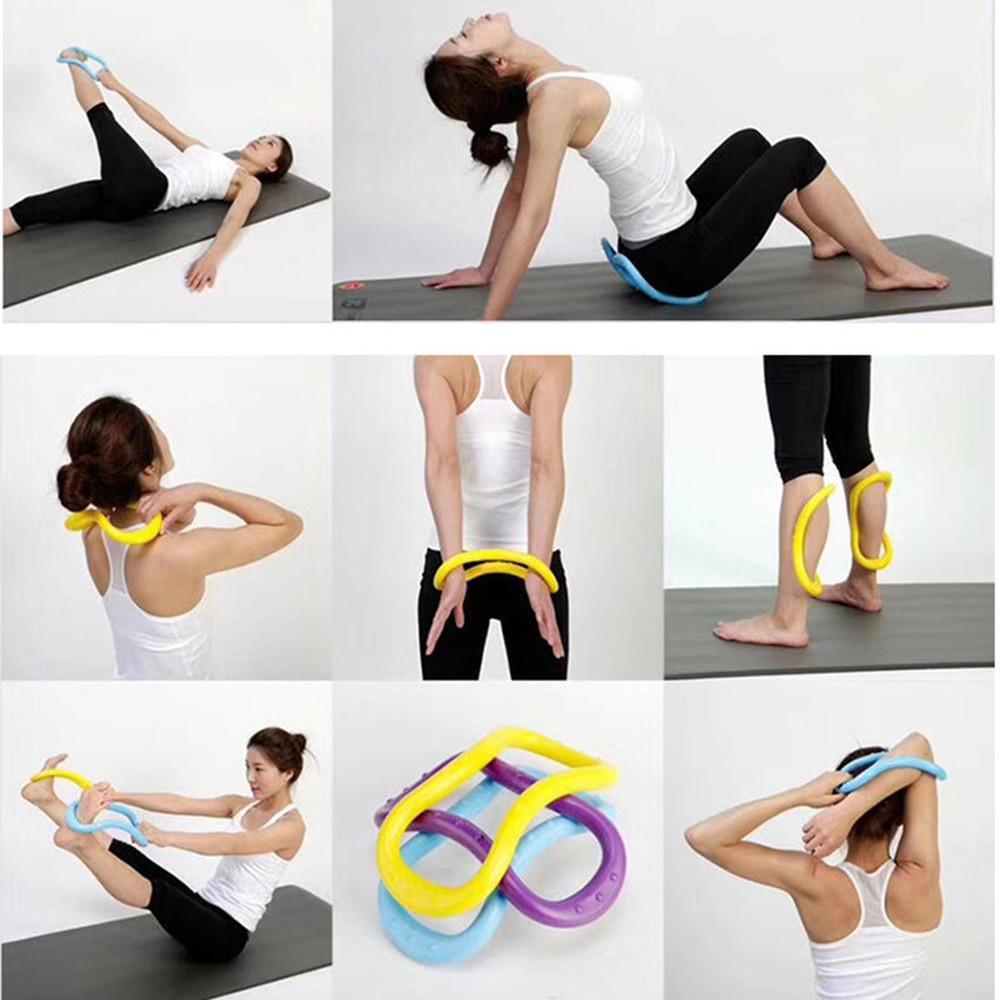 Stretch Yoga Ring Pilates Ring Calf Massage Home Training Yoga