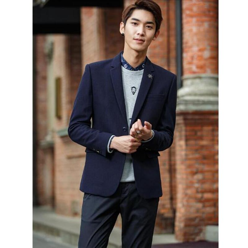 6562bfeadd Formal occasions men business jacket high quality latest style wedding the  groom suit two grain of buckle warm winter suit