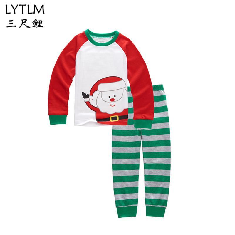 5ac216af6 LYTLM Girls Pijama Christmas Pajamas Pijama Infantil Kids Girl ...