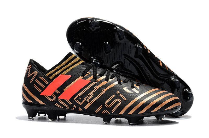 dc535fc35bd ACC Nemeziz 17.1 FG Messi Football Shoes Mens Soccer Cleats Outdoor Soccer  Boots Men s Football Boots 39-45
