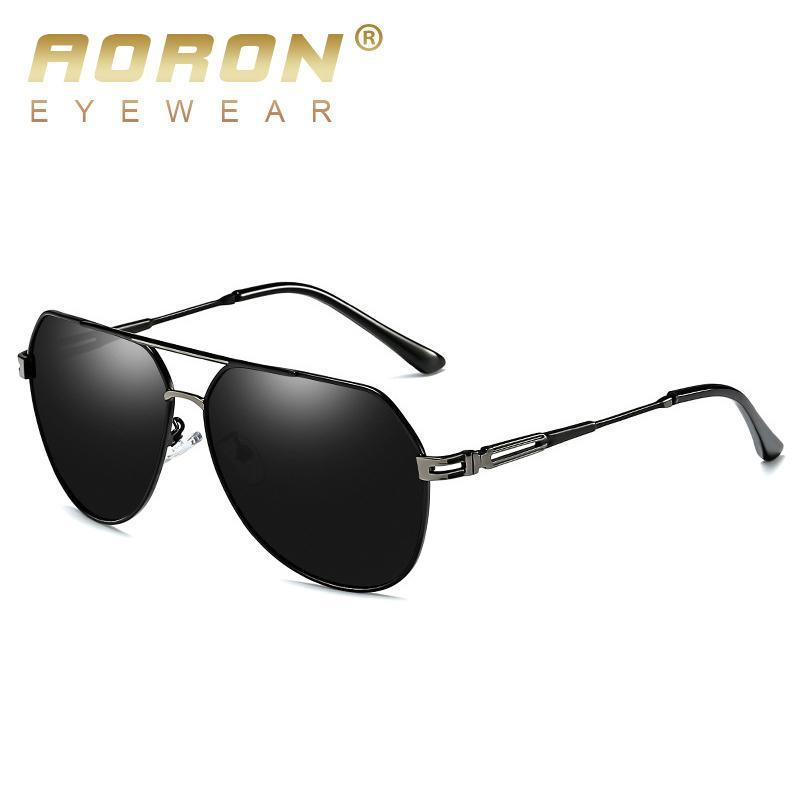 cc9cf77dfa AORON Brand Fashion Classic Polarized Sunglasses Men S Designer HD Goggle  Eyewear Sun Glasses UV400 For Men Sunglasses Shop Bolle Sunglasses From ...