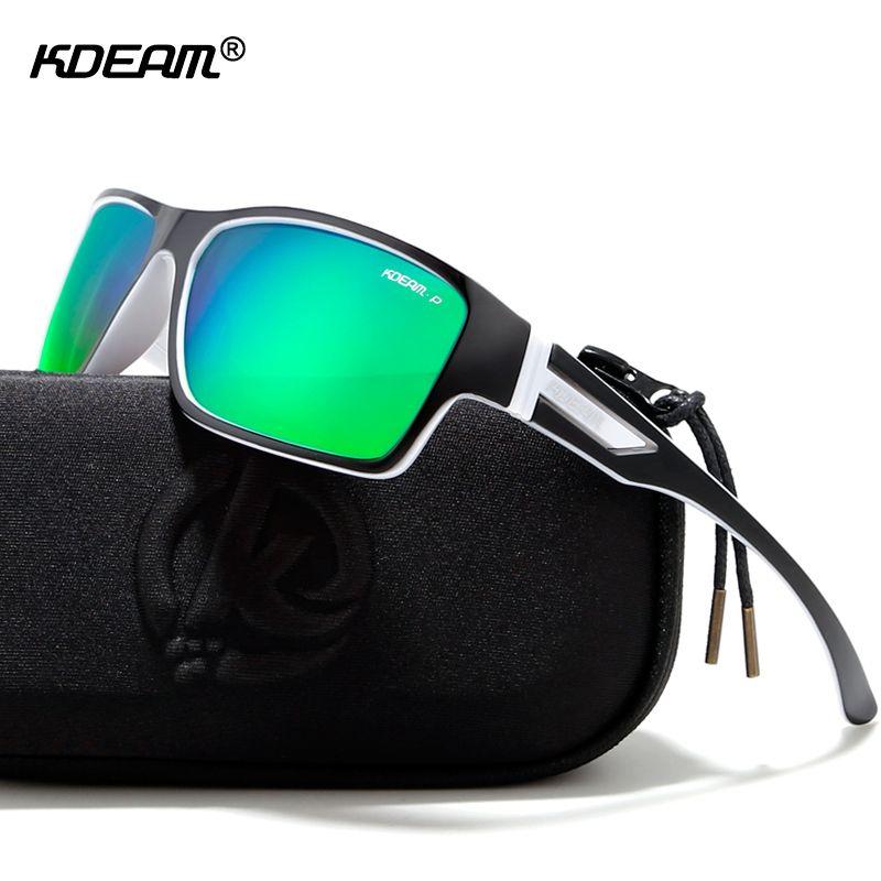 f86650593f Compre KDEAM Gafas De Sol Polarizadas Para Exteriores Gafas Para Hombres  Gafas De Sol 100% UV Estuche Con Cremallera Incluido Gafas Deportivas KD510  ...