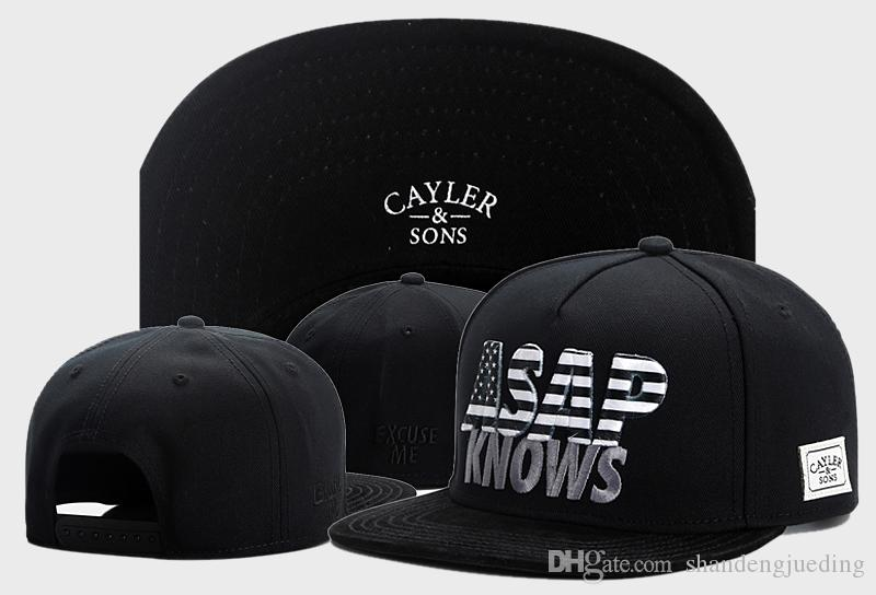 Top Quality Cayler   Sons Fashion Hip Hop Caps ASAP Embroidery ... 6d0b8268b8b5
