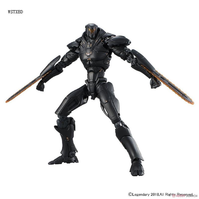 2019 Original Bandai Assembled Model Hg Pacific Rim 2 Obsidian Fury
